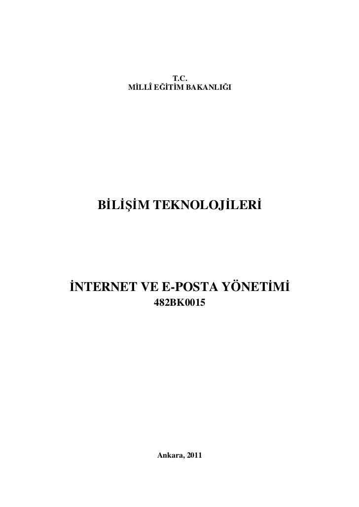 Internet ve e posta yönetimi