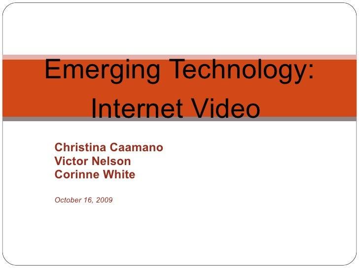 Internet Video Project