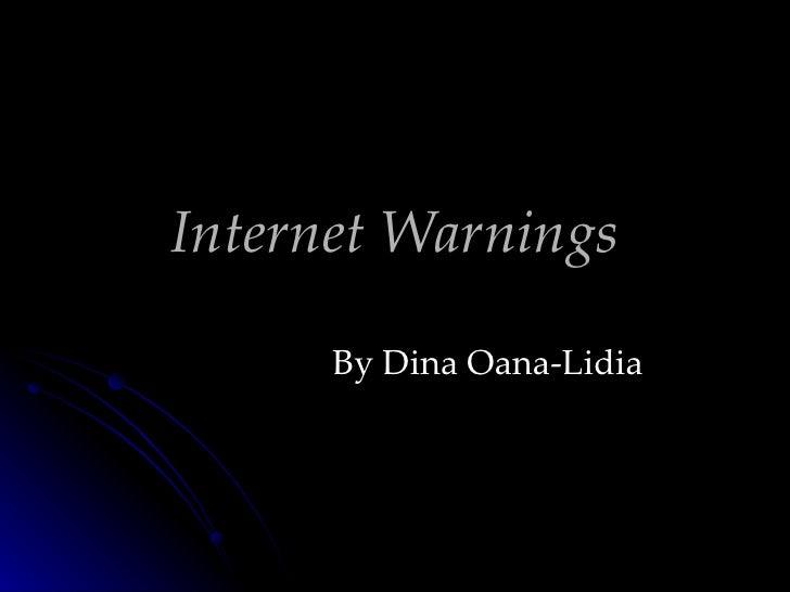 Internet warnings