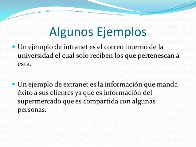 Internet y extranet for Interno wordreference