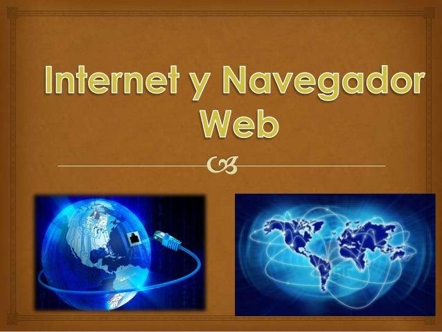 Índice   Internet  ¿Qué es una red de computadoras?  Redes de computadores  Servicios que ofrece internet  Navegador...
