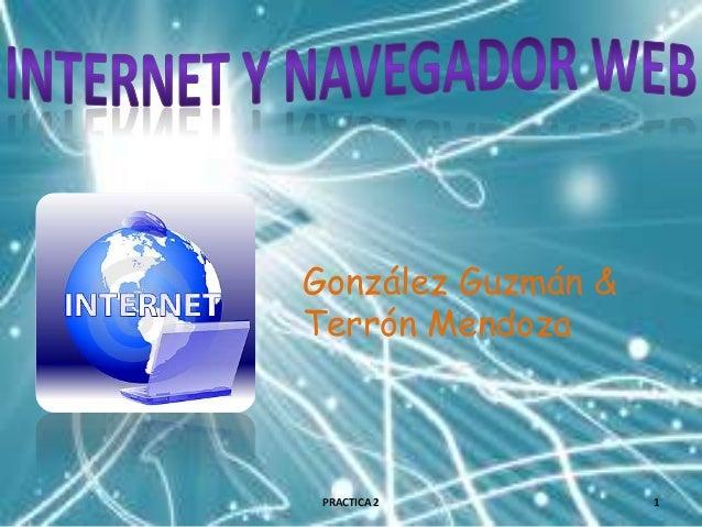 González Guzmán & Terrón Mendoza  PRACTICA 2  1