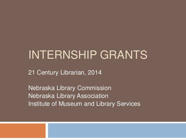 NCompass Live: Internships: Cultivating Nebraska's Future Librarians