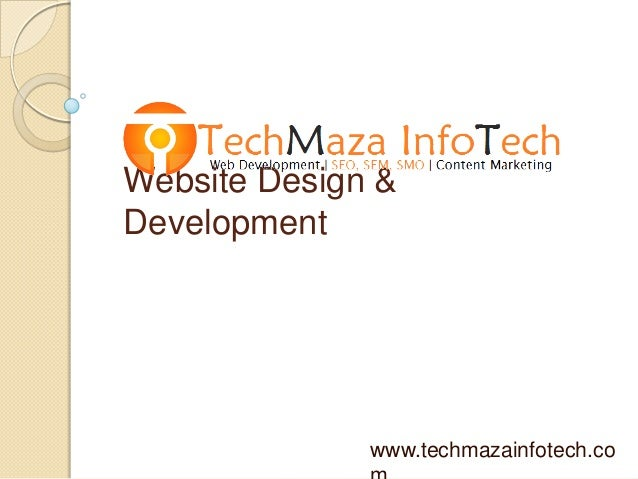 Website Design & Development www.techmazainfotech.co