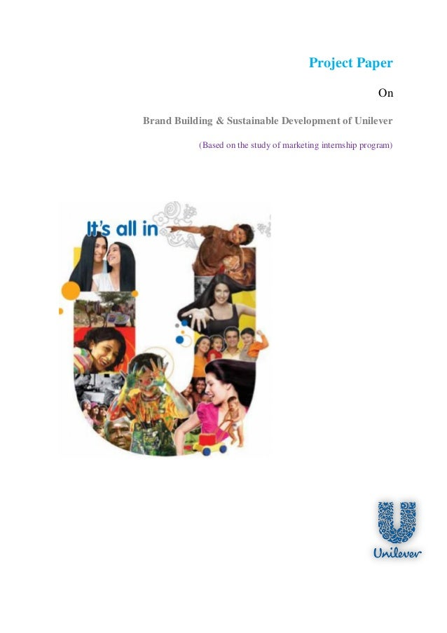Project Paper                                                           OnBrand Building & Sustainable Development of Unil...