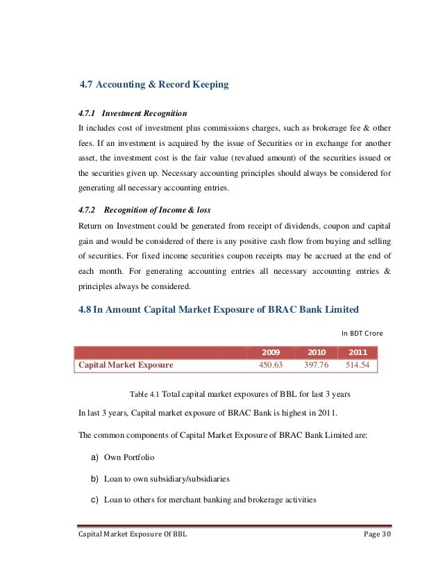Accounting dissertation on capital market