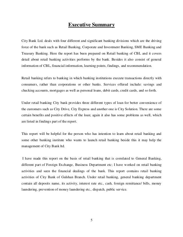 Resume Sample Internship Report