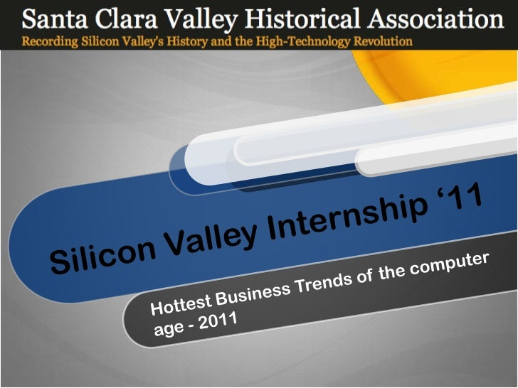 Why Silicon Valley ?                                     Innovation                   Entrepreneurial                     ...