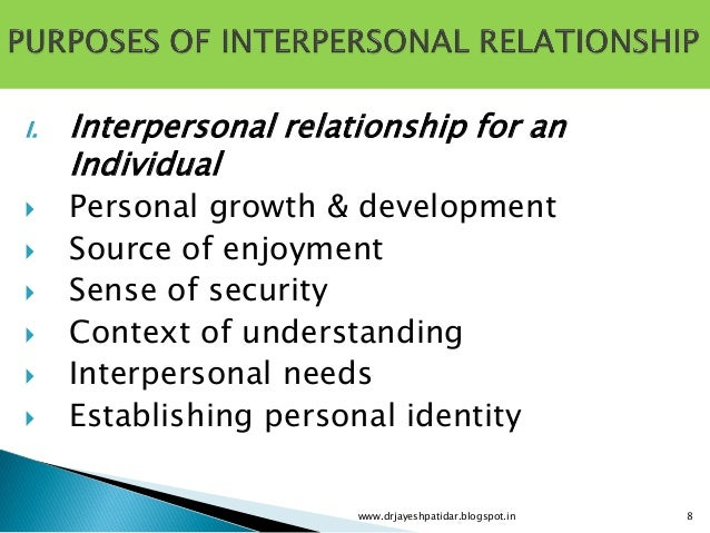 interpersonal communication assignments Speech 1318, interpersonal communication i will provide a format for your use in the development of your two communication goals this assignment will be.