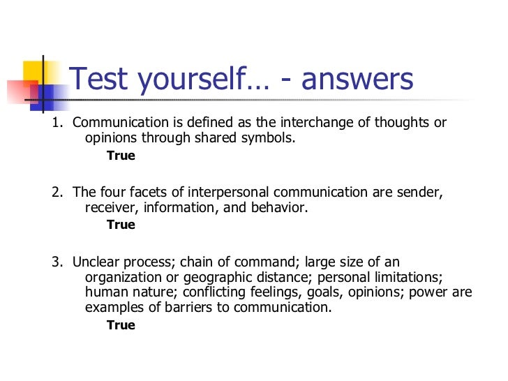 Www the secret circle com, describe your communication skills answers