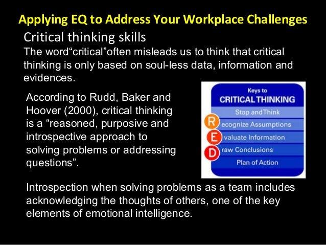 rudd defining critical thinking