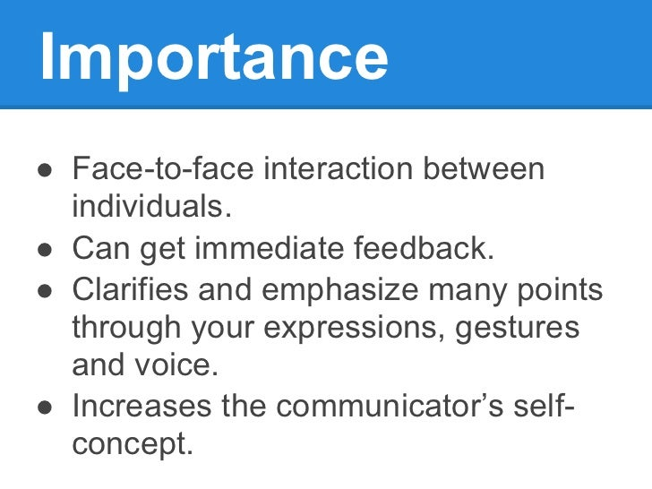 the importance of communication process in family Describe various types of family rituals and explain their importance explain how task-orientation definitions of family recognize that behaviors like emotional and financial support are more important interpersonal indicators of a family-like connection than biology in short, anyone family communication processes.