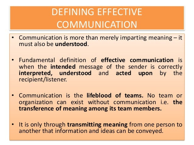 zombies effective means of communication Definition of communication - the imparting or exchanging of information by speaking, writing, or using some other medium, means of sending or receiving informa  'television is an effective means of communication'.