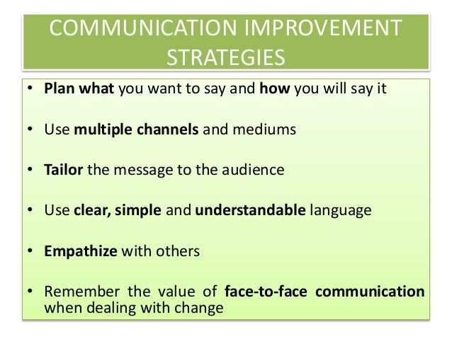 improvement of communication essay How the internet improve communication how does internet aid communicationwith the rise of the internet, mobile internet and subsequently social media, communications and connectivity have been augmented.