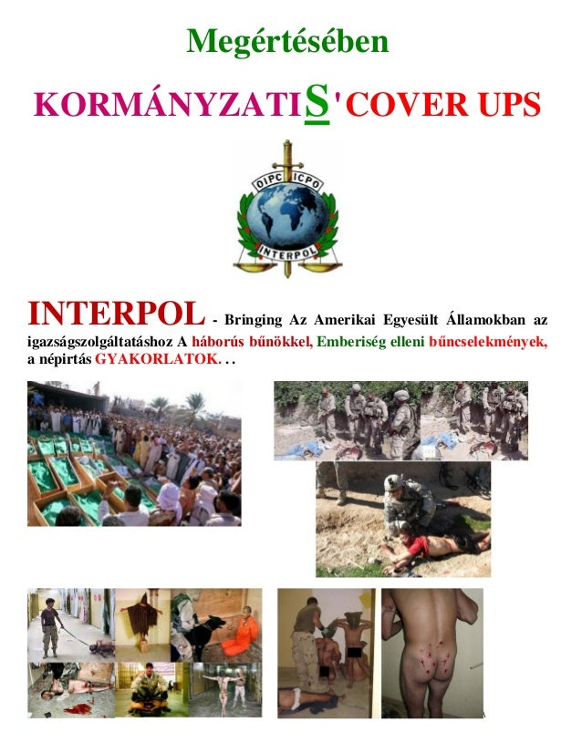 Interpol   bringing the united states to justice (hungarian)