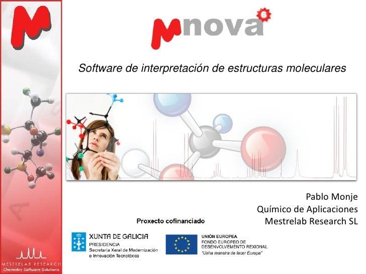 Software de interpretación de estructuras moleculares                                              Pablo Monje            ...