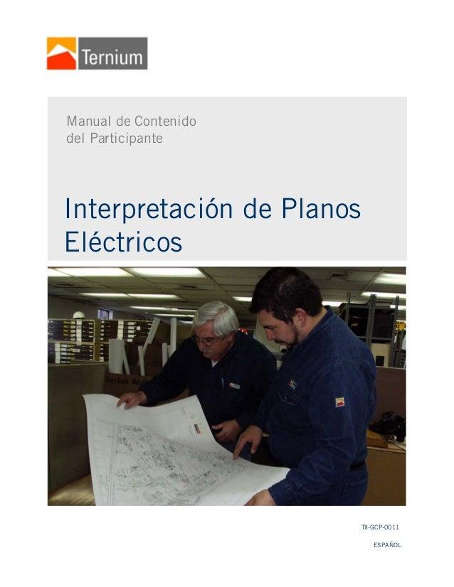 es lectura e interpretacion de planos: