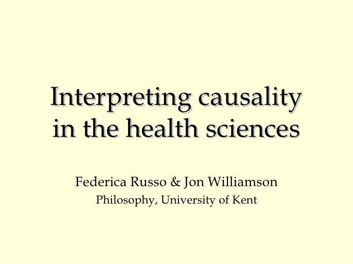 Interpreting Causality