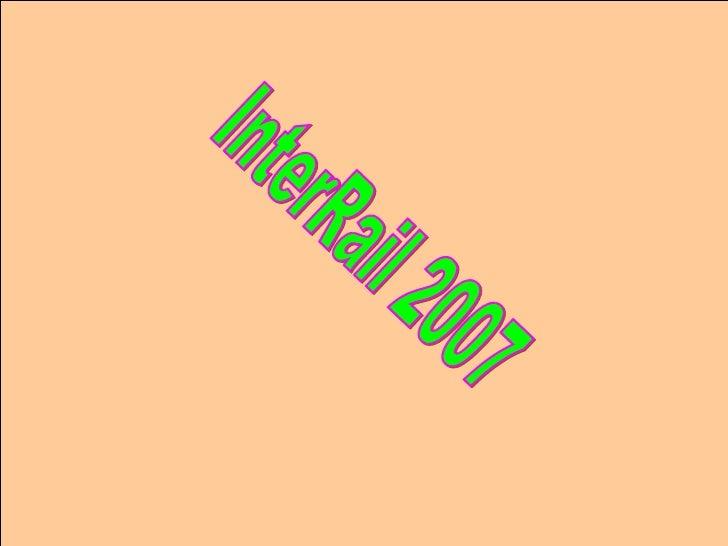 InterRail 2007