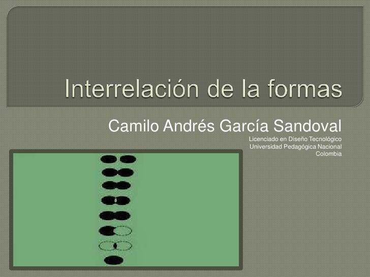 Interrelación de las formas