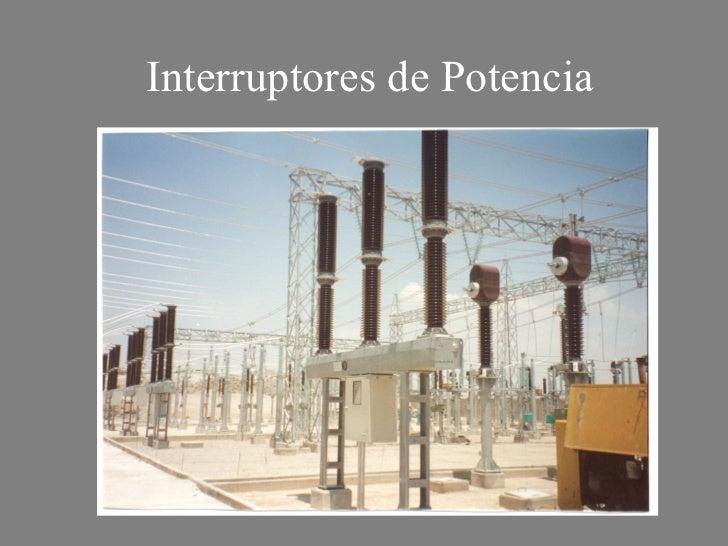 Interruptores de potencia - Interruptores de diseno ...