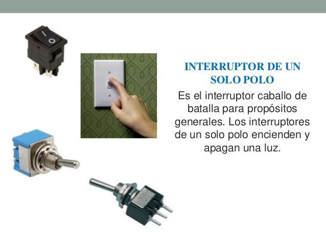 Interruptores electricos - Tipos de interruptores de luz ...