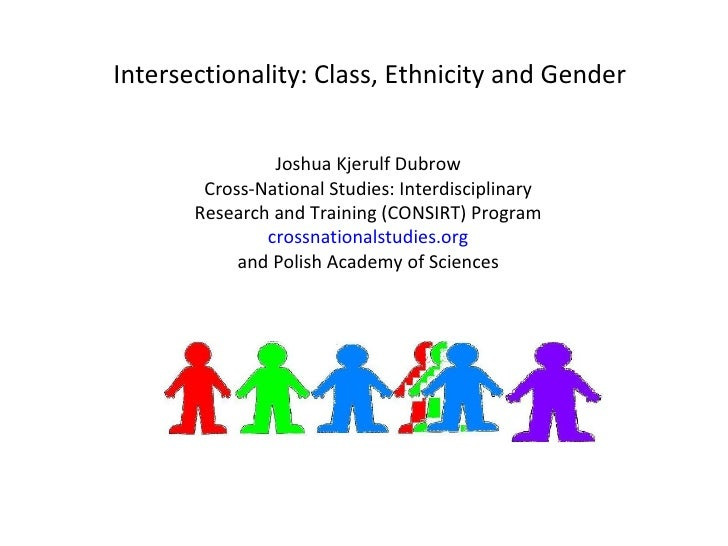 Intersectionality and Socioeconomic Resources