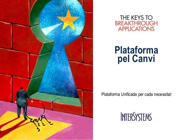 Plataforma pel Canvi  Plataforma Unificada per cada necessitat
