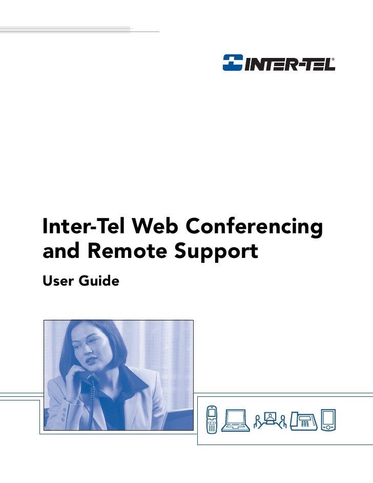 Inter-Tel Web Conferencing and Remote Support User Guide