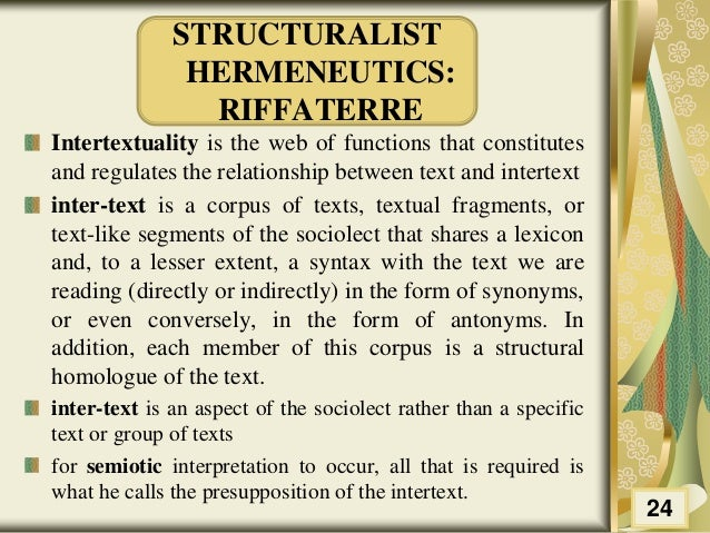 Would it be wrong to use the word 'intertextuality' like this?