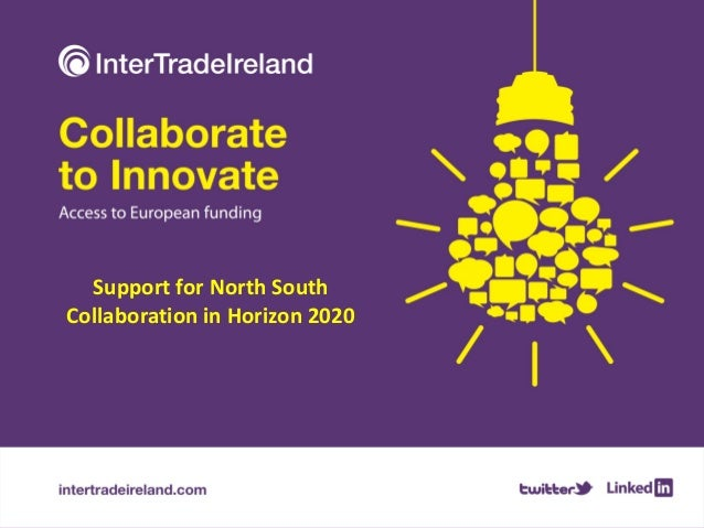 Support for North South Collaboration in Horizon 2020