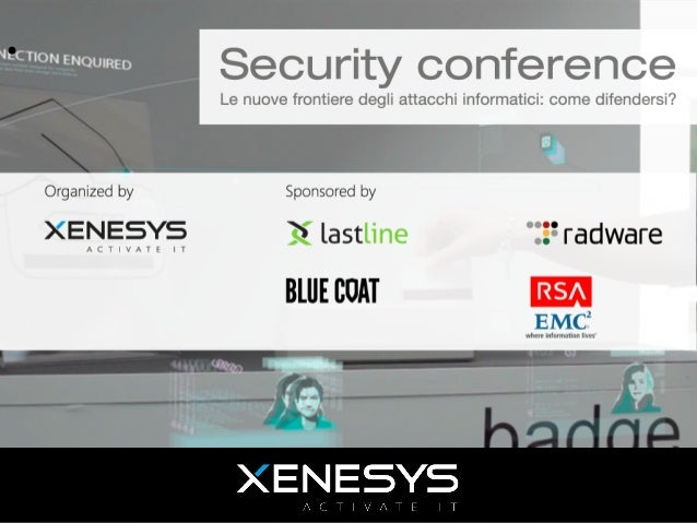 Evento Xenesys - Security Conference