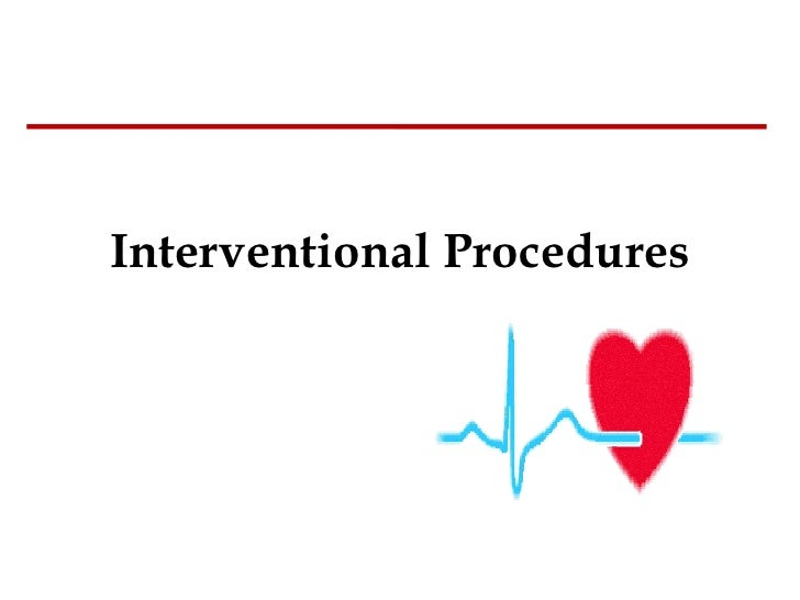 Interventional Procedures