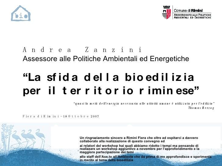 Un ringraziamento sincero a Rimini Fiera che oltre ad ospitarci a davvero collaborato alla realizzazione di questo convegn...
