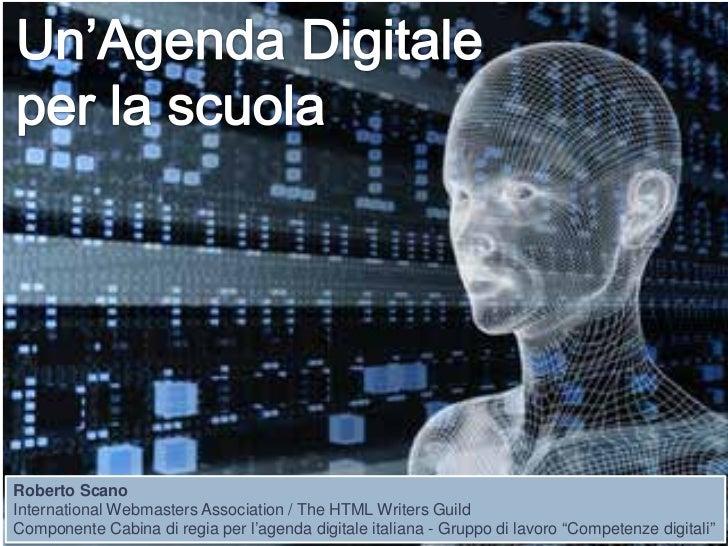 Un'agenda digitale per la scuola