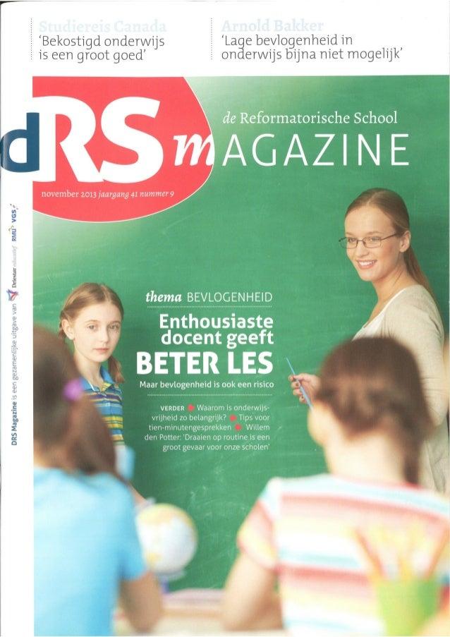 Interview Prof. Arnold Bakker 2013 Nov DRS