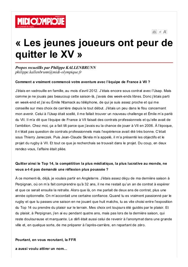 20/7/2015 DetailleArticle http://ejournal.midiolympique.fr/epaper/xml_epaper/Rouge/20_07_2015/pla_4995_Midi_Olympique_Ro...