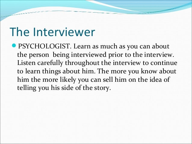 I need to Interview a Psychologist ASAP!!!!!?
