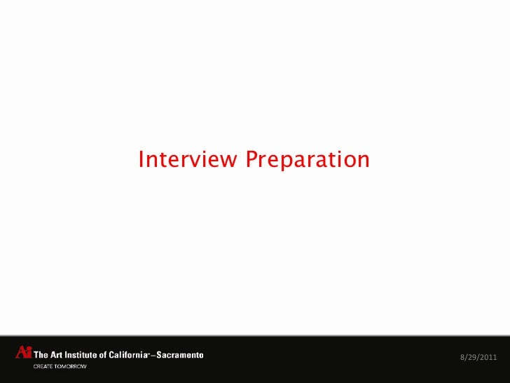 Interview Preparation1