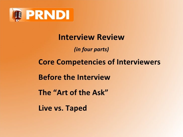 Interview Review