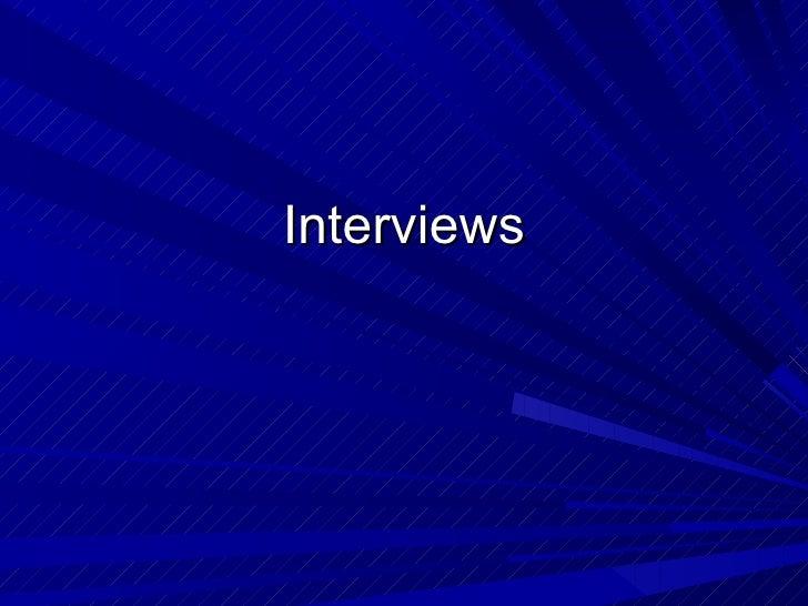 Interviews linkville p pt