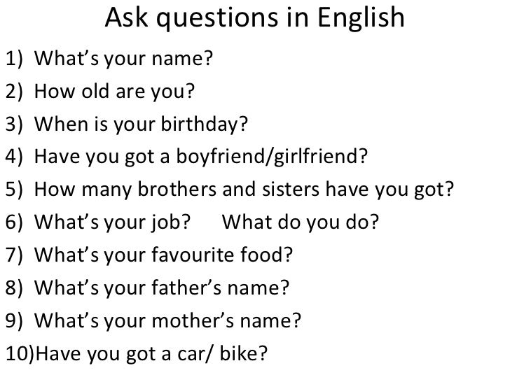 5 Good Questions To Ask A Girl