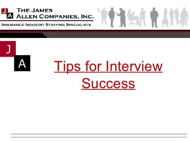 Tips for Interview Success