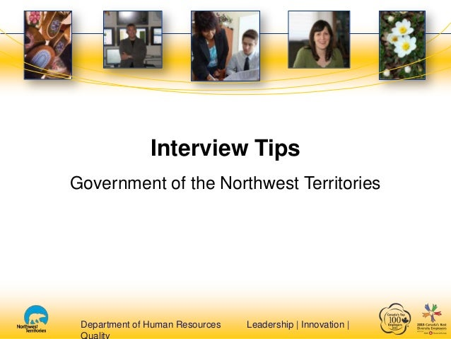 Interview tips on line presentation final august 2013 alm