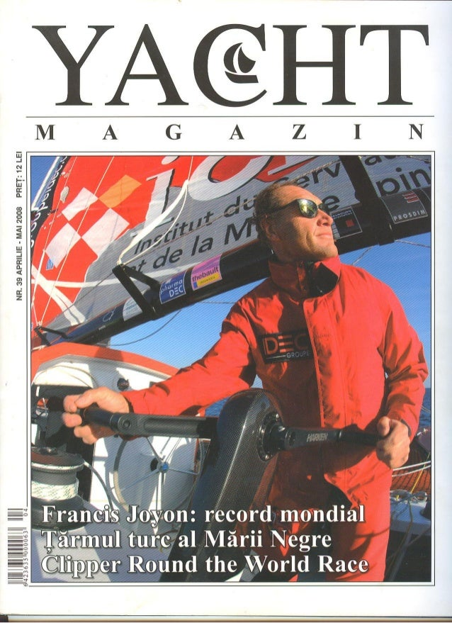 Interview yacht magazine 2008
