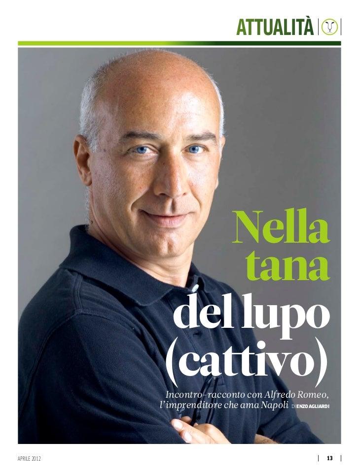 Den Speciale Alfredo Romeo in copertina