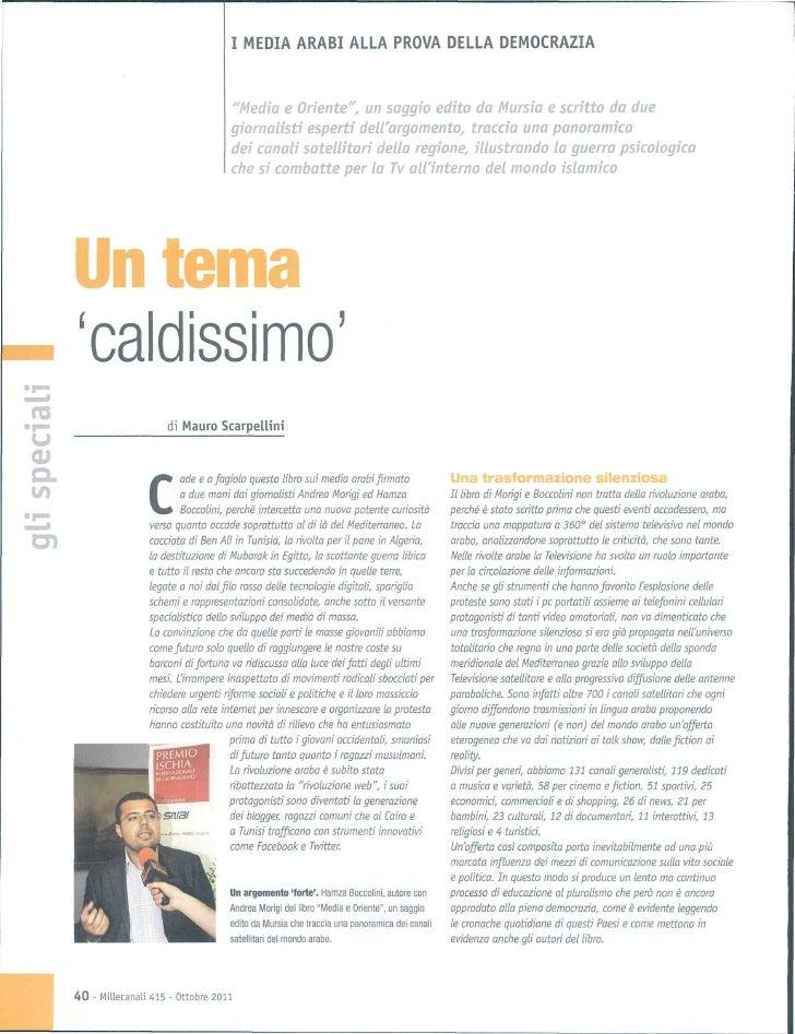 Intervista a rivista mille canali