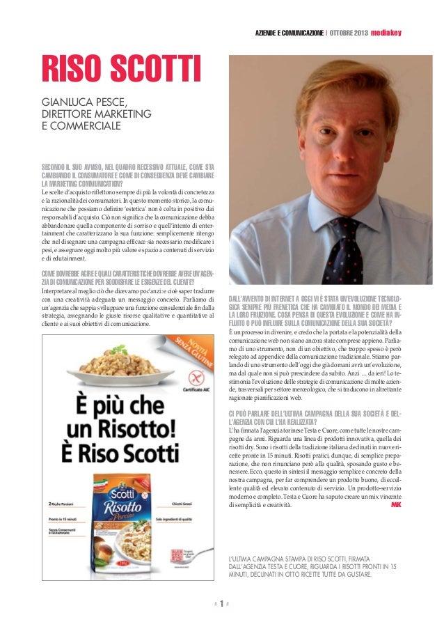 """2013-10 - Da """"MediaKey"""" - Intervista Gianluca pesce, Media key"""