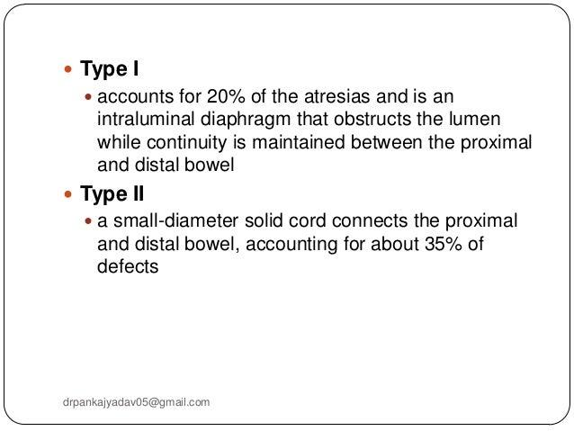 ileal atresia classification essay