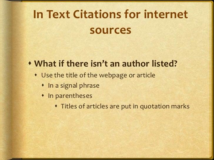 Apa citation for essay